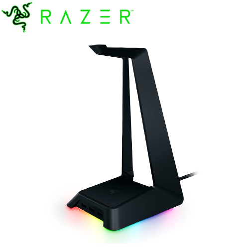 Razer Base Station Chroma 耳機架-黑色(1Y)